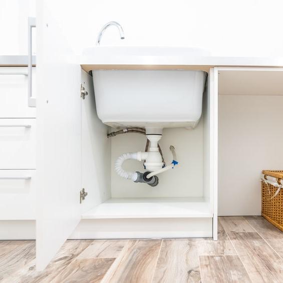 garbage disposal under sink