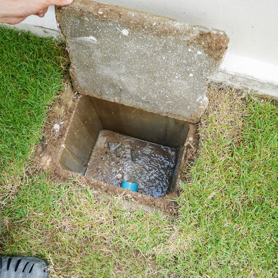 opening sewer inspection