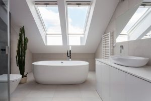 Bathroom Skylights Adds to Feel of Room